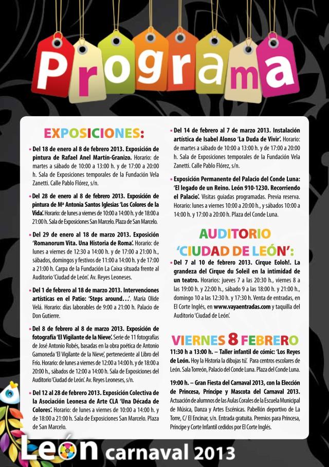 Programa_Oficial_Carnaval_Leon_2013-2